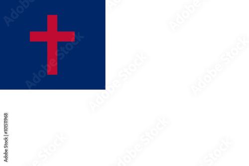 Valokuva  Christian Flag