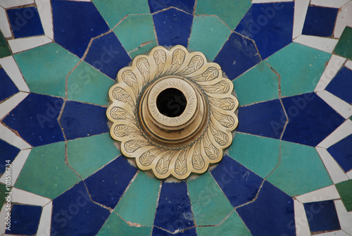 Fotografie, Obraz  Marokko -  marokkanisches Ornament in Casablanca