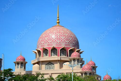 Canvas Prints Kuala Lumpur Putra Mosque, Putrajaya, Malaysia