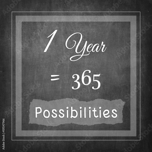 Fényképezés  1 Year = 365 Possibilities