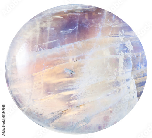 cabochon from moonstone natural mineral gem stone Wallpaper Mural