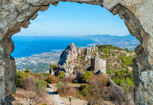 Photo sur Toile Chypre Saint Hilarion Castle, Cyprus