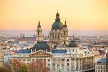 St Stephen (St Istvan) Basilica In Budapest