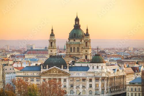 St Stephen (St Istvan) Basilica in Budapest Poster