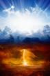 Leinwandbild Motiv Heaven and hell