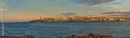 Panorámica de La Coruña