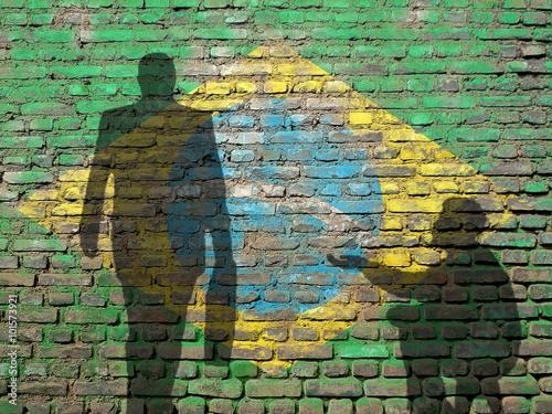 Inequality in Brazil Wallpaper Mural