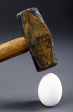 Breaking The Egg.