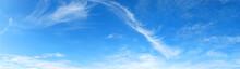 Template Di Un Cielo Azzurro Con Nuvole