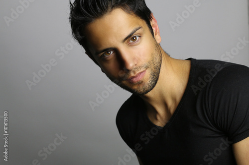 Fotografie, Obraz  Portrait of an handsome man