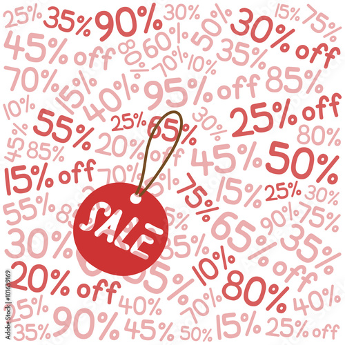 Wallpaper And Tag For Clearance Sale In Red Theme Buy This