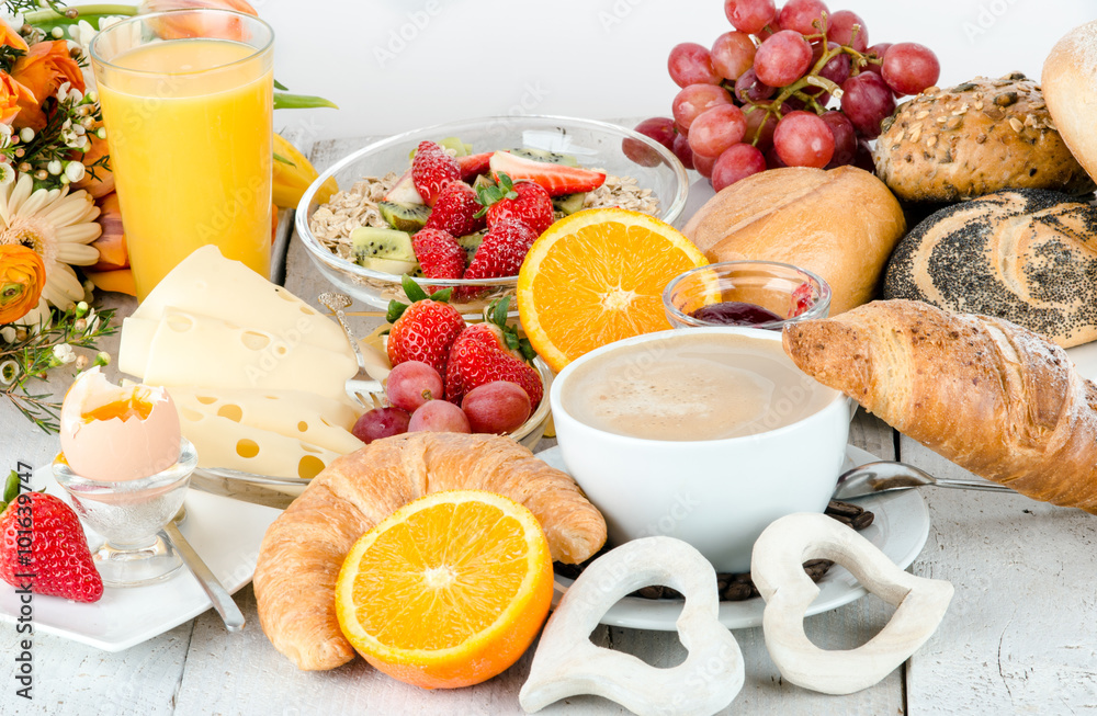 Photo Art Print Good Morning Healthy Delicious Breakfast To