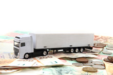 White Truck And Czech Money
