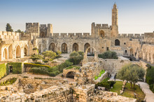 Tower Of David In Jerusalem, I...