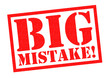 canvas print picture - BIG MISTAKE!