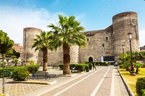 Obraz na płótnie Ursino Castello in Catania, Sicily, Italy