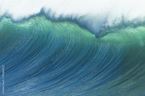 Door stickers Water Wave Ocean Power