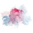 Design of Fresh Spring Watercolor Splash for various decor.