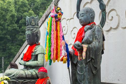 Foto  Jizo at Osu Kannon Temple in Nagoya, Japan