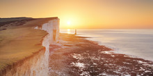 Sunrise Over Beachy Head On Th...