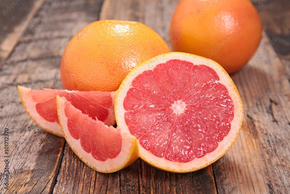 Fototapety, obrazy: red grapefruit