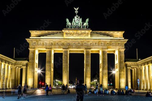 Keuken foto achterwand Berlijn Brandenburg gate, Berlin, Germany