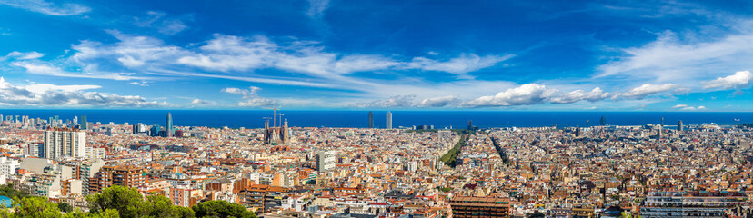 Panoramski pogled na Barcelonu