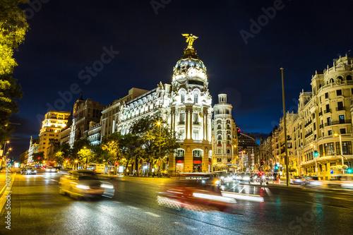 Deurstickers Amsterdam Metropolis hotel in Madrid