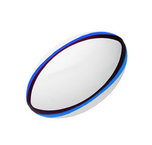 Photo Of A White Leather Rugby Ball