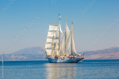 Foto auf AluDibond Schiff Sailing ship