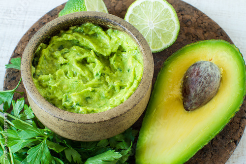 Mexican food: avocado dip