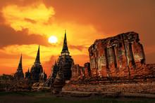 Wat Phrasisanpetch Temple At S...