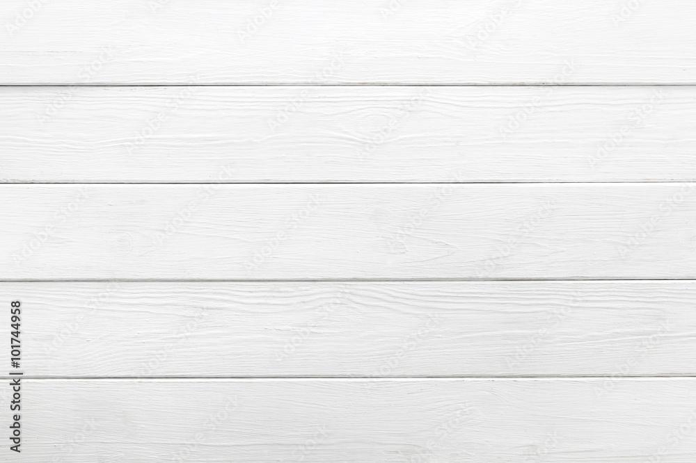 Fototapeta White background of wooden planks