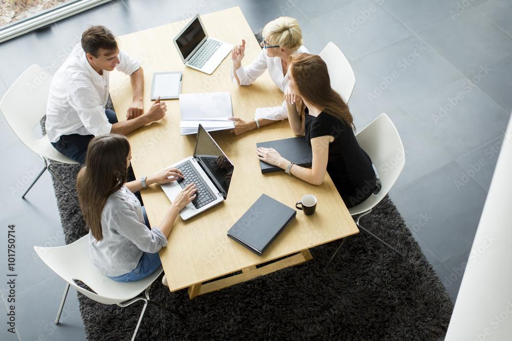 Fototapeta Business meeting in office