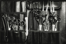 A Set Of Cutting Tools For Cut...
