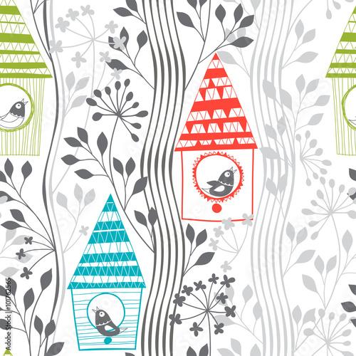 wiosna-wzor-z-ptakow-kwitnacych-drzew-i-budki-legowej