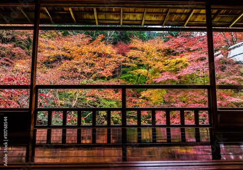 Printed kitchen splashbacks Kyoto 京都 瑠璃光院