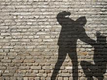 Shadow Of Men In Fight