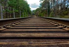 Railroad Tracks Near Burnt Fork Creek