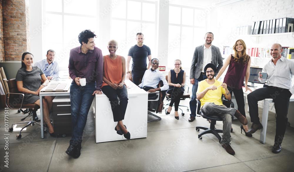 Fototapeta Business Team Professional Occupation Workplace Concept