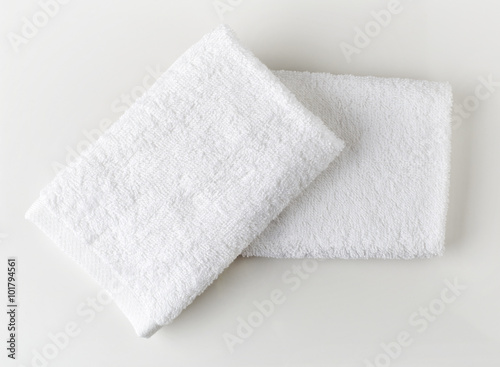 Fotografie, Obraz  White spa towels