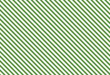 Streifen Diagonal Grün Weiß