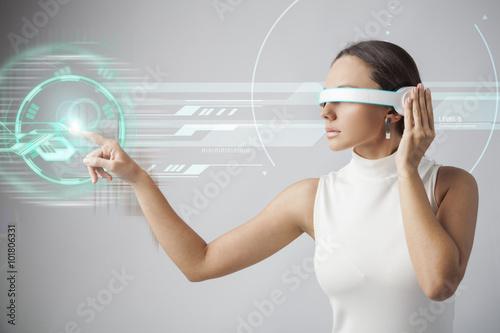 Fotografie, Obraz  Budoucí technologie
