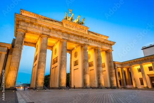 Staande foto Berlijn Brandenburg Gate of Berlin, Germany.