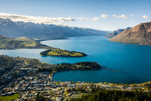 View Of Queenstown And Lake Wa...