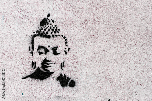 Tag petit bouddha Canvas