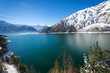 Achensee im Winter, Tirol, Österreich