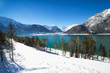 Winterlandschaft am Achensee, Tirol, Österreich