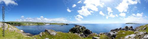Obraz na płótnie Lagavulin Bay panorama