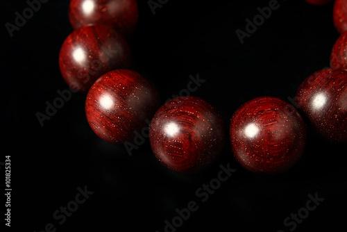 Fotografie, Obraz  紫檀の数珠